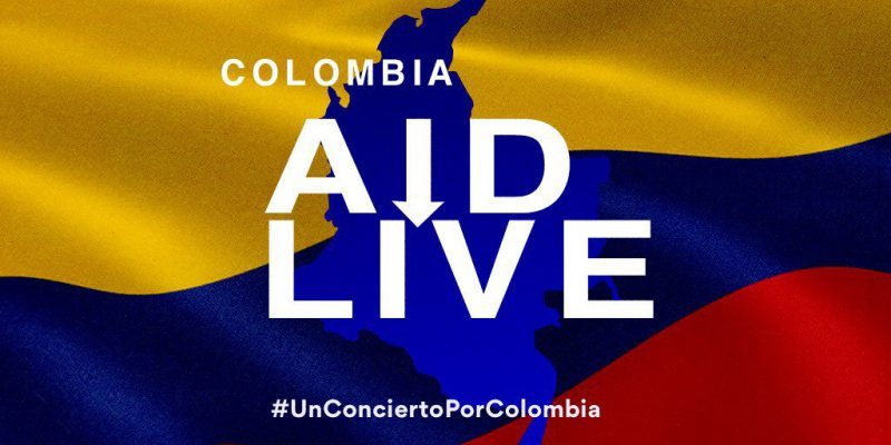 A concert for Colombia