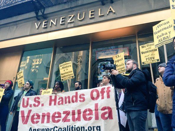 Venezuela Coup Supporters Break Into NYC Consulate