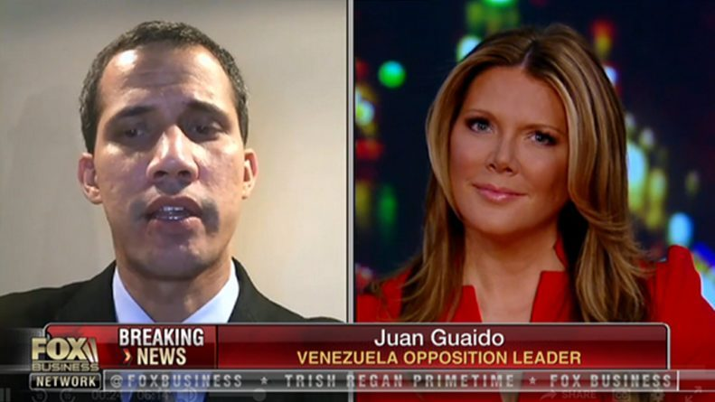 Guaidó Claims He Can Authorize Foreign Military Intervention in Venezuela (Interview)