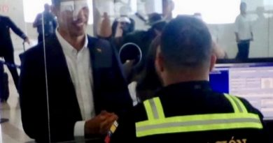 Guiado Enters Venezuela Without Red Carpet and Protocol
