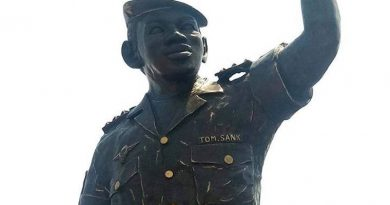 African Icon, Thomas Sankara's Statue Unveiled in Burkina Faso