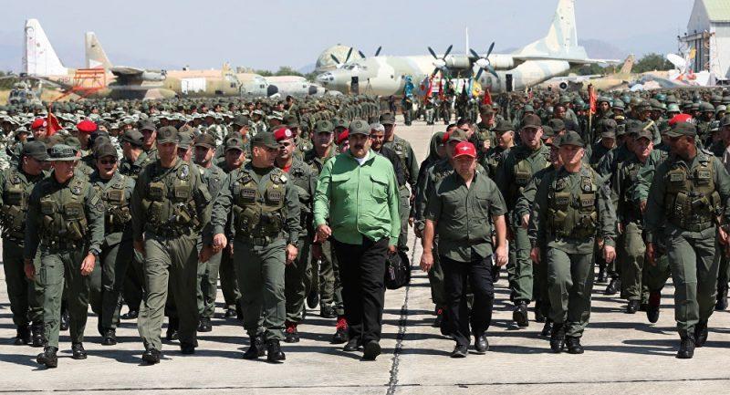 Maduro Announces New Venezuela Military Drills After Week-Long Blackout