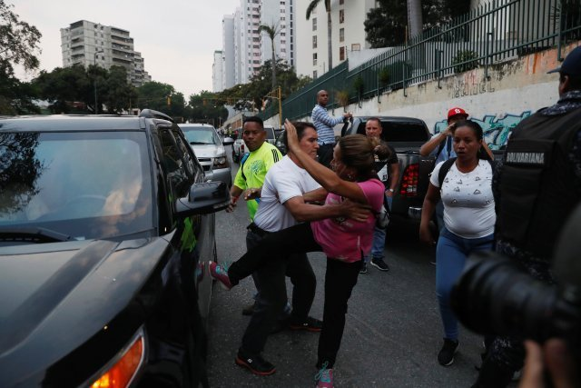 Guess Who Defended Guaido from an Angry Mob Yesterday? (Video)