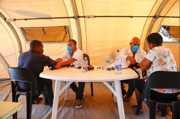 Cuban Doctors Assist Victims of Cyclone Idai in Mozambique (Images)