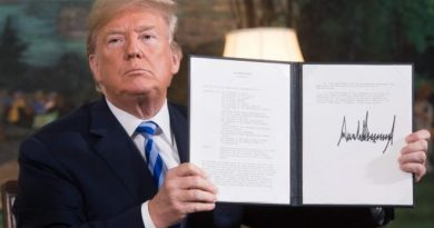 End Of Sanction Waivers For Iran's Oil Will Hurt Trump's Voter Support