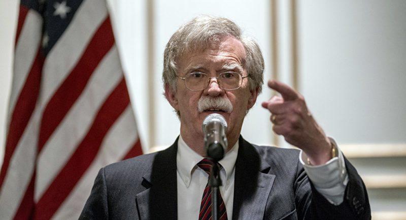 "Bolton WARNS Venezuela: Monroe Doctrine ""Well and Alive"""
