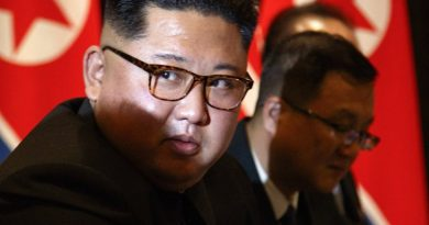 Kim Jung-un Says Happy to be in Russia