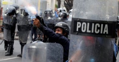 Honduran Police Clashes With Protesters Over Health and Education