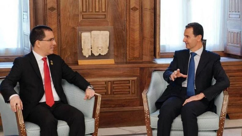 "Bashar Al-Ássad: ""What is Happening in Venezuela is Similar to Syria"""