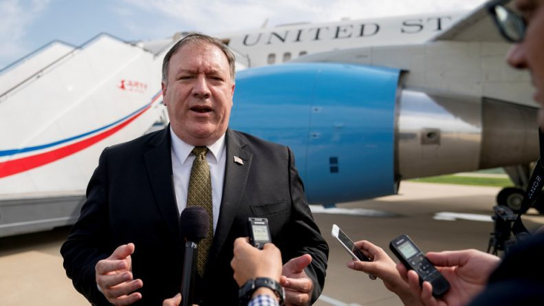 "North Korea: Replace Pompeo With Someone ""More Cautious & Mature"" if You Want to Talk"