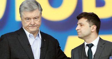 """""""I'm Not Your Opponent, I'm Your Sentence!""""; Ukraine Presidential Hopefuls Trade Jabs in Last Debate"""