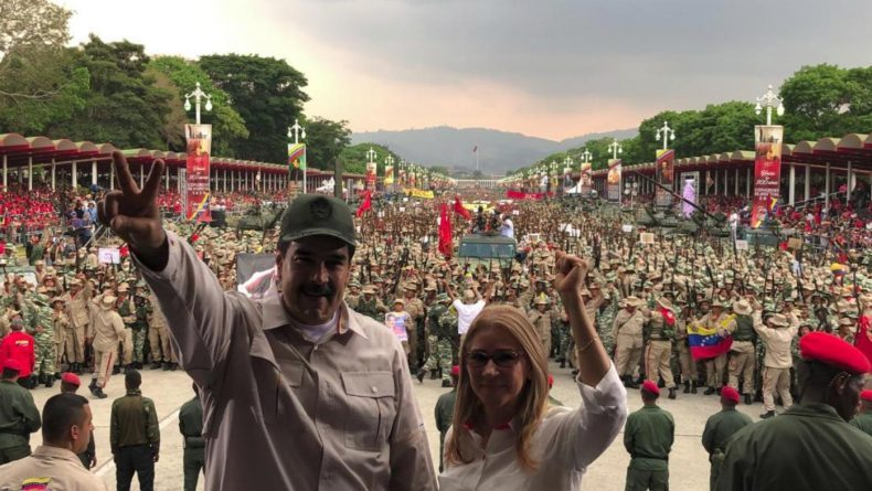 Venezuela: Bolivarian Militia Forces Exceed 2 Million - 3 Million Planed for the End of Year (Images+Video)