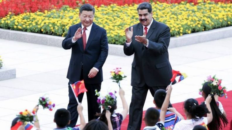 Bloomberg Publishes an Article by Guaido Imploring the Chinese for Support