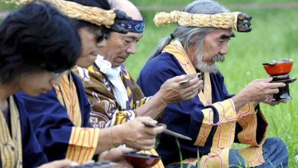 Japanese Gov't Enacts Law To Preserve Indigenous Ainu Culture