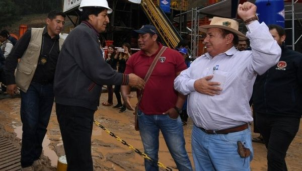 "Bolivia's Nationalized Oil Company Finds ""A Sea of Gas"""