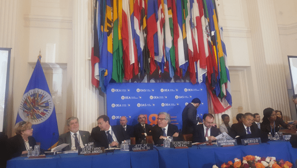 4 Caricom Leaders Leave OAS Meeting to Boycott Guaido Rep