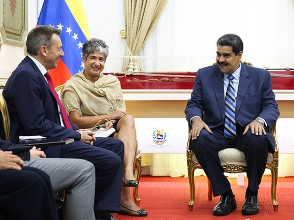 International Red Cross met with President Maduro in Miraflores Palace