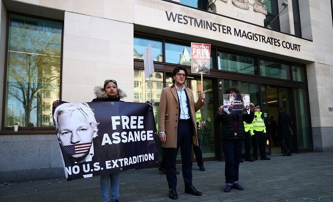 Julian Assange's Arrest Prompts International Outcry from UN, Rights Activists, Gov'ts