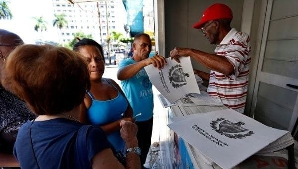 Cuba: The New Constitution Comes Into Force Today