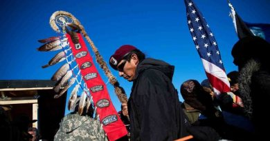 The South Dakota Legislature Has Invented a New Legal Term to Target Pipeline Protesters