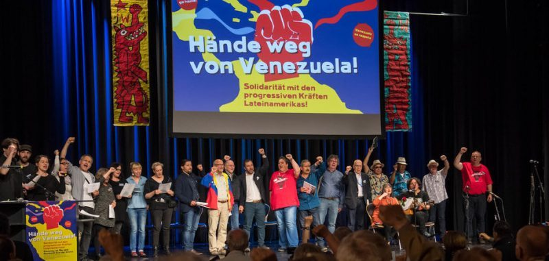 Germany: 750 Guests Attend Solidarity Event with Venezuela in Berlin