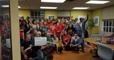 """Venezuelan Embassy Protection Collective""- 5 de Mayo Statement"