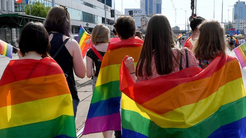 """Polish LGBT Rights Activist Arrested for Coloring """"Our Lady"""" Icon in Gay Pride Rainbow"""