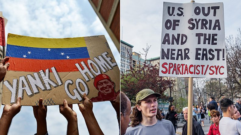 Venezuela Isn't Syria… But America's War Tactics are the Same