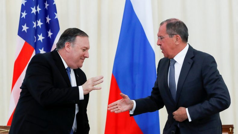 Lavrov & Pompeo Agree to Work on Nukes Control but Clash on Venezuela, Election Interference (VIDEO)