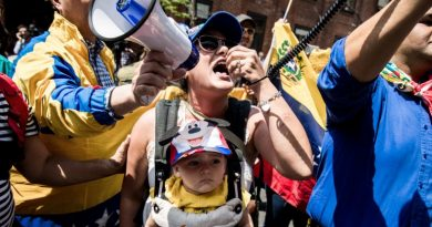 Who's Behind the Pro-Guaidó Crowd Besieging Venezuela's D.C. Embassy?