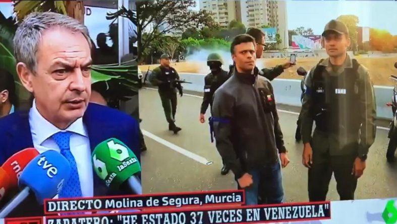 Spain's Zapatero Criticizes Trump, Calls for Venezuela Dialogue