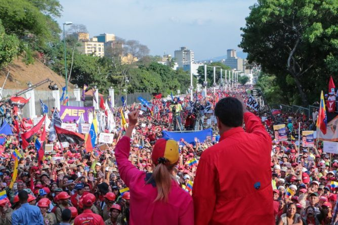 "Chavista Tide Covered Caracas on #1May - ""Operacion Libertad"" Failed (Videos+Images)"