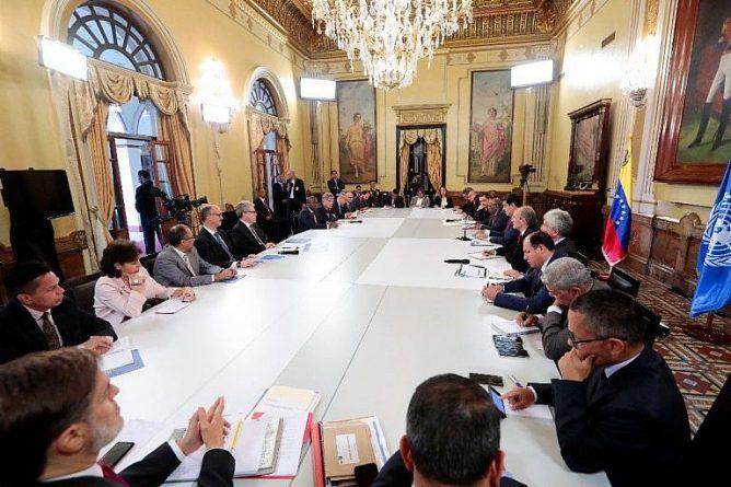 President Maduro received UN Representatives in Caracas