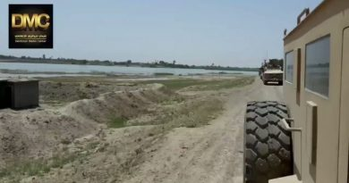 US Coalition Attacks Syrian Oil Transport Boats On Euphrates River