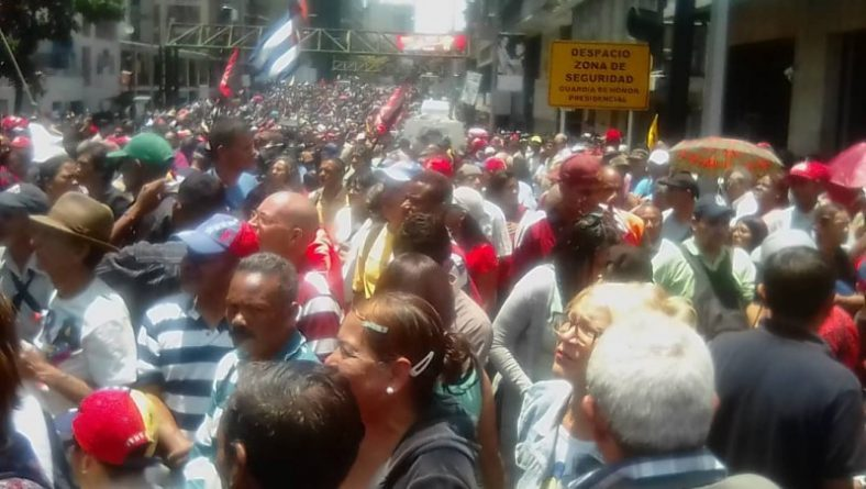 Eyewitness Venezuela: No coup, People Defend President Maduro