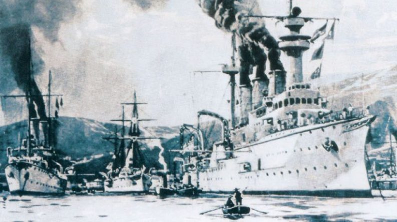 Naval Blockade of Venezuela in 1902: A Historical Approach to Present Events
