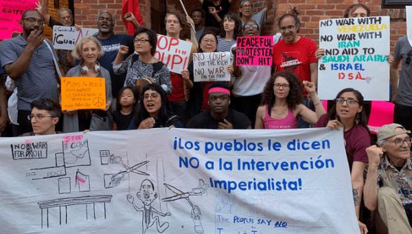 Venezuelan Embassy: Water Shut Off, Police Block Entry of Food