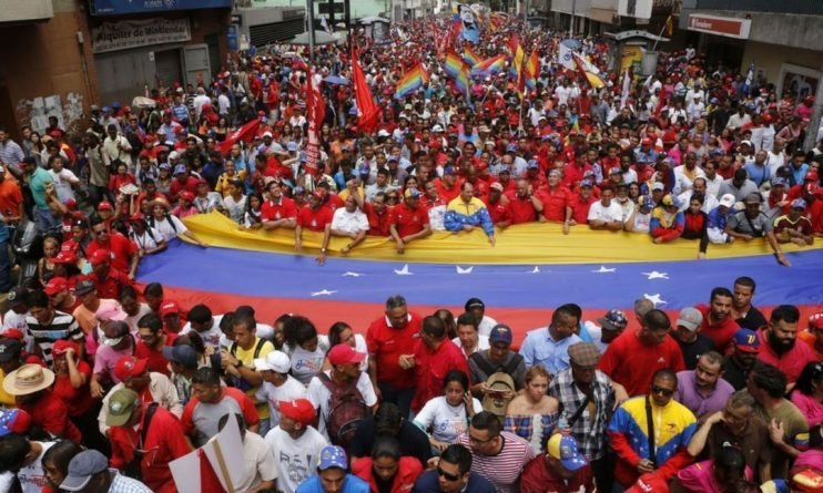 Venezuela Resists US Coup: Massive Outpouring for President Maduro