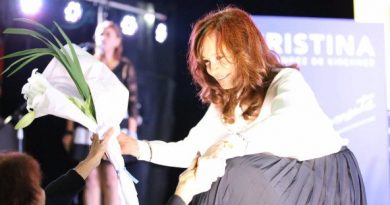 Argentina: Cristina Kirchner Announces her Candidacy for Vice President