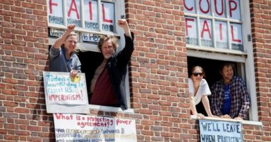 The Activists who Defended the Venezuelan Embassy, Won