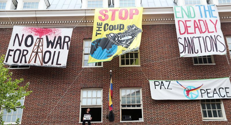 National Mobilization Saturday May 18 at the Venezuelan Embassy in D.C.