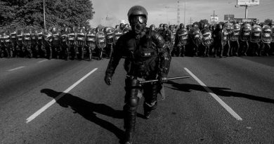"Police Repression is ""Brutal"" Only if it Happens in Caracas"