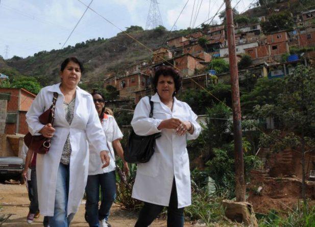 Troops for Life from Cuba in Venezuela