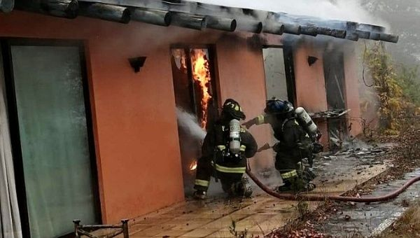 Chile: Pinochet's Family Home Destroyed in Fire