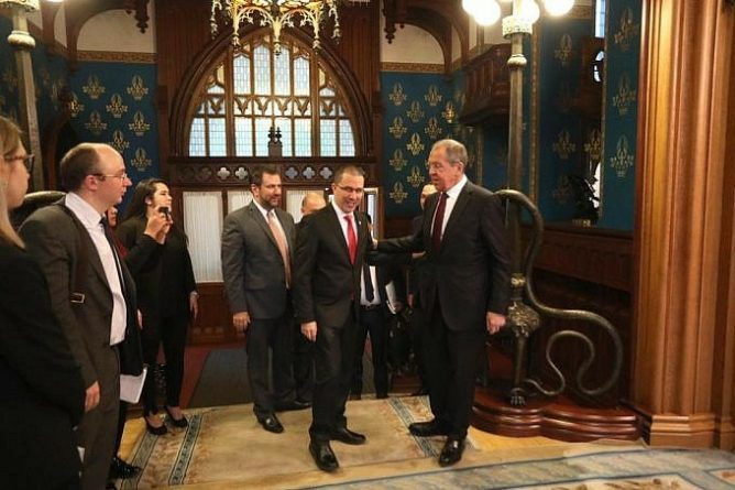 Chancellors of Russia and Venezuela meet in Moscow