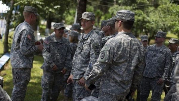 "300 US SouthCom Troops in Honduras to Teach ""Humanitarian  Assistance"""