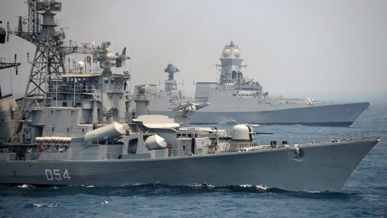 India Deploys Warships to Persian Gulf Amid Rising Tensions Between US and Iran (Images)