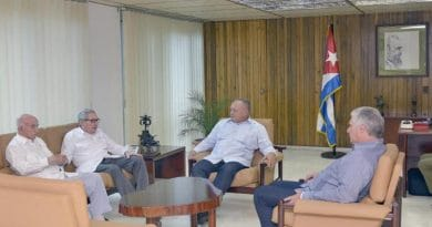Diosdado Cabello Received in Cuba by Díaz-Canel and Raúl Castro (+Canada)