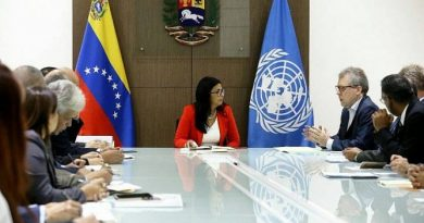 Delcy Rodriguez in a Meeting With UN Representatives: We Ask for a Scientific Revision of Your Figures (Migration)