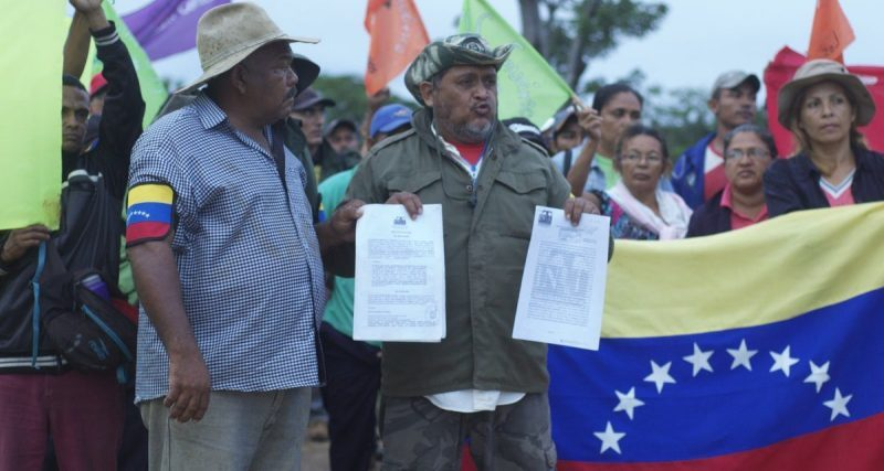 Guarico Peasants Evicted by Police from Their Rightful Lands